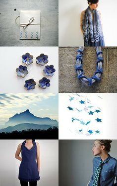 Blue Tuesday by Stella Melgrati on Etsy--Pinned with TreasuryPin.com