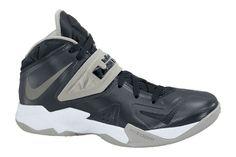 934a9316fcf Nike Zoom Soldier VII 599263 001 Black Metallic Silver Matte SilverWhite