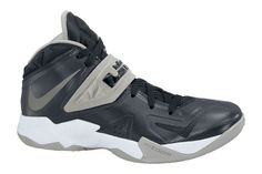 c53146cebac8 Free Shipping Only 69  Nike Zoom Soldier VII 599263 001 Black Metallic  SiLVSer Matte SiLVSerWhite