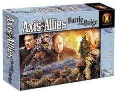 Avalon Hill Axis And Allies Battle Of The Bulge