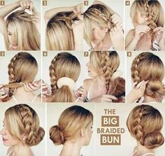 41 Best Step By Step Instruction For Hair Design Images In 2016