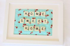 Home Sweet Home - A Mothers Day Project - A Spoonful of Sugar