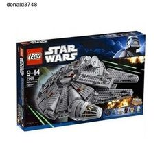 Star-Lego- Millennium- Falcon- Wars- New -Sealed- Solo Minifigure