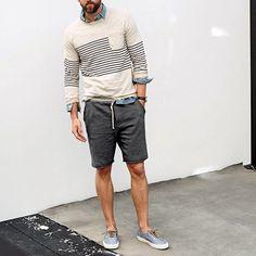 Shorts season has arrived!  TrendyButler.com