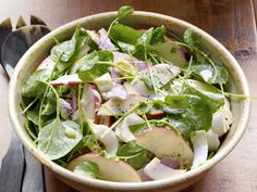 Ham and Apple Salad Satisfy sweet and salty cravings with this crunchy salad while impressing others with your homemade shallot dressing. Get the Recipe: Apple-and-Ham Salad