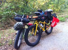 Fat Bike 100 mile camping trip