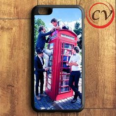 1d Telephone Box One Direction iPhone 6 Plus | iPhone 6S Plus Case