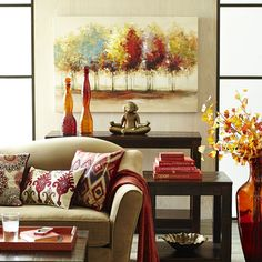 This collection is from Pier 1 imports. Loved the colors, style and patterns! Decorating my living room based on this design.