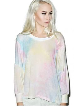love how this is like fairy tale tie dye