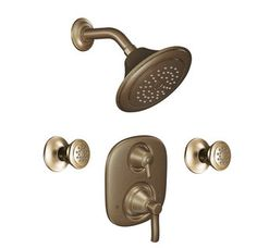 Master   View The Moen 703 Pressure Balanced Shower System Uwith Shower  Head, Diverter,