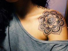 Mandala Tattoo - 33 antique templates and designs as inspiration - Tattoo Ideen - Tatoo Ideen Maori Tattoo Frau, Tattoo Henna, Get A Tattoo, Tattoo Arm, Demon Tattoo, Tattoo Motive, Tattoo Symbols, Yakuza Tattoo, Wrist Tattoos