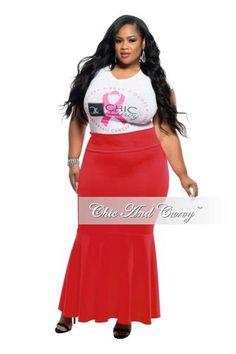 bbfd2799d536 Final Sale Plus Size Liquid Mermaid Skirt in Royal Blue