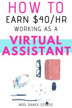 Learn about Virtual assistant services, Virtual assistant tools, Virtual assistant business, Virtual assistant jobs, Virtual assistant training all at one place. Best Work from home jobs! Make Money Today, Make Money From Home, Way To Make Money, Make Money Online, Learn Online, Money Fast, Best Side Jobs, Virtual Assistant Services, Work From Home Jobs