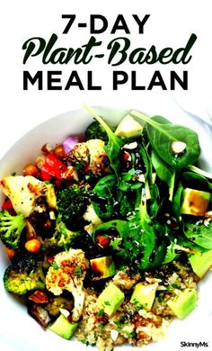 if you don't plan on being vegan, you can still enjoy clean health benefits from this Plant-Based Meal Plan.Even if you don't plan on being vegan, you can still enjoy clean health benefits from this Plant-Based Meal Plan. Ketogenic Diet Meal Plan, Keto Meal Plan, Diet Meal Plans, Diet Menu, Diet Recipes, Vegetarian Recipes, Healthy Recipes, Vegetarian Breakfast, Healthy Salads