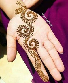 Easy and Simple Henna Designs Ideas That You Can Do - . Easy and Simple Henna Designs Ideas That You Can Do – Henna Hand Designs, Eid Mehndi Designs, Mehndi Designs Finger, Henna Tattoo Designs Simple, Simple Arabic Mehndi Designs, Modern Mehndi Designs, Mehndi Designs For Beginners, Mehndi Design Photos, Mehndi Simple