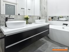 Bathrooms and Kitchens SA design manage & construct, a multiple award winning Bathroom & Kitchen Design & renovation company Contemporary Bathrooms, Modern Bathroom, Bathroom Pictures, Bathroom Ideas, Bathroom Vanity Tops, Co Design, Beautiful Bathrooms, Bathroom Interior Design, Bathroom Organization