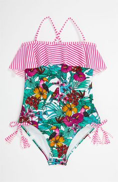 Raisins One Piece Swimsuit (Big Girls) available at #Nordstrom