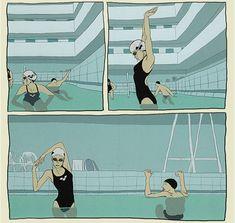 A Taste of Chlorine by Bastien Vivès. Read 2015.