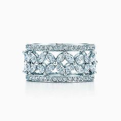 Shop Women's Wedding Bands from Tiffany & Co. The secret of Tiffany to finding the perfect wedding band for her is in its quality and intricate details. Womens Wedding Bands, Wedding Band Sets, Wedding Rings, Wedding Engagement, Engagement Rings, Tiffany & Co., Tiffany Jewelry, Tiffany Necklace, Spring 2015 Fashion