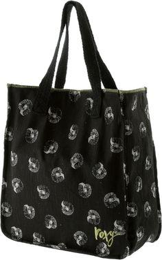 #ROXY #Strandtasche #Damen - Roxy geräumige Strandtasche mit Muschelprint geflochtene Textilhenkel 1 Magnetknopf Maße H/B ca. 38x35cm Material 100% Leinen.