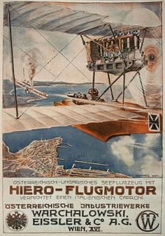 Austrian propaganda poster WWI