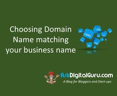 Choosing Domain Name matching your business name is one of the critical steps that you will come across right at the beginning. Let's go set by step.