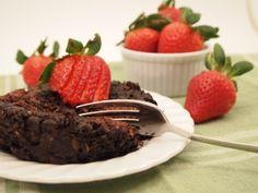 Cocoa Strawberry baked oatmeal
