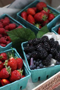 strawberry, raspberry, blueberry, blackberry