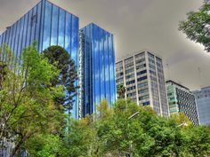1970´s Architecture Reforma Avenue Mexico City