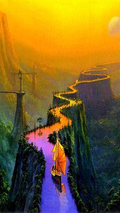 Artist: Thomas Thiemeyer  -  The Road to Samarkand Attributed artist: Thomas Thiemeyer  -  #Thiemeyer