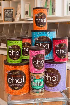Love chai tea, trying them all at Tea Bar!