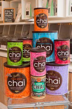 Love chai tea, trying them all at Tea Bar!