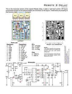 easy pt2399 circuit basic guitar delay effect circuit diy guitar pedal version schematics. Black Bedroom Furniture Sets. Home Design Ideas