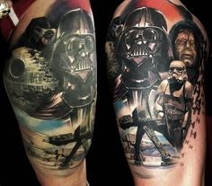 star wars tattoos | the star wars tattoo show contest was held on sunday actor ray park ...