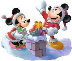Mickey and Minni clip art
