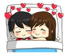 Quotes Discover Jun-kun and Jane-chan lively! Cute Love Pictures, Cute Cartoon Pictures, Cute Love Gif, Love You Gif, Cute Bear Drawings, Cute Couple Drawings, Cute Couple Art, Love Cartoon Couple, Cute Love Cartoons
