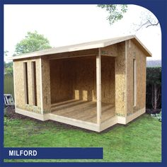 Sips UK Ltd have manufactured garden building kits for numerous garden building companies