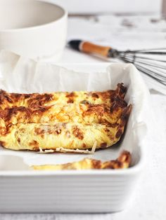 Baked omelets stuffed with mushrooms / by o!kuchnia