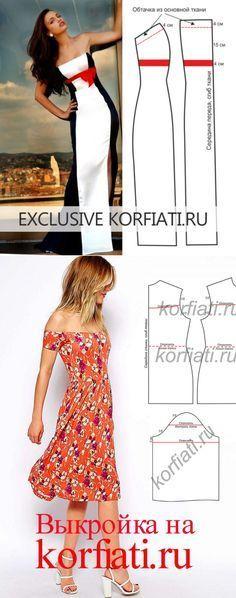 Pattern dress for the big exit... ♥ Deniz ♥