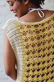 Ravelry: Lemonade Top pattern by Toni Lipsey