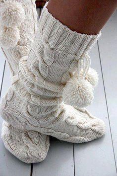 Ötletek kötött zoknira