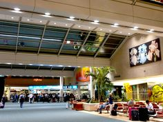 Sights and atmosphere of Orlando International Airport  www.traveladept.com