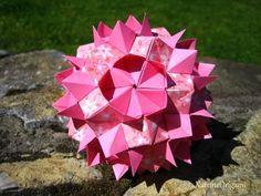 Origami ❉ Queen`s Crown ❉ Kusudama