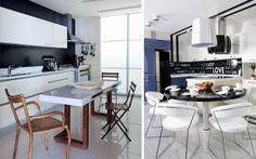 Cocinas con office de estilo contemporáneo - Decofilia.com