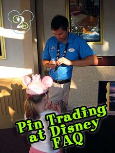Click here for the answers to frequently asked questions about Pin Trading at Walt Disney World.