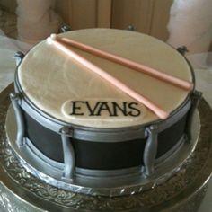 Drum grooms cake! granburycakes.com