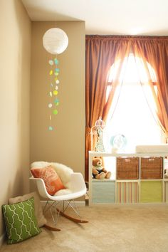 Love the modern touches in this nursery done on a budget - Project Nursery