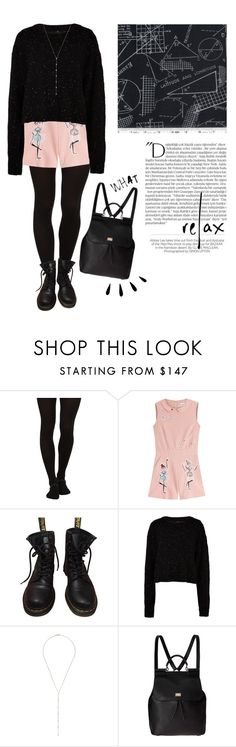 """#130"" by kgarden ❤ liked on Polyvore featuring Wolford, RED Valentino, Dr. Martens, TIBI, Anita Ko, Dolce&Gabbana, Old Navy, Balmain and Kershaw"