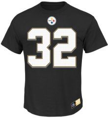 Franco Harris Pittsburgh Steelers Majestic NFL Eligible Receiver II HOF T- Shirt - Official NFL aca89e6da9a