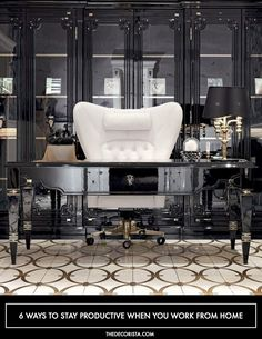Trendy Home Office Inspiration Ideas Layout Home Office Space, Home Office Design, Home Office Decor, House Design, Office Ideas, Office Themes, Design Homes, Office Inspo, Office Spaces